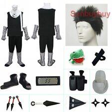 Naruto Zabuza Halloween Cosplay Costume Naruto set with wig