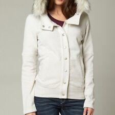$79 Fox Racing Women's Reflect Fur Trimmed Jacket – Heather Pearl sz XS