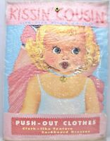 1967 Kissin Cousins VTG Paper Doll Lowe Uncut Original Life Size NIP RARE Flicke