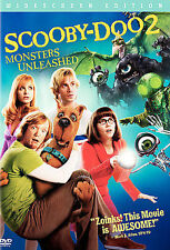 Scooby Doo 2: Monsters Unleashed (DVD, 2004, Widescreen) GOOD