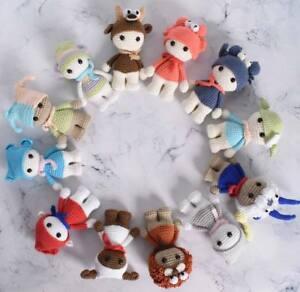 Amigurumi Horoscope Astrology Zodiac Doll Crochet Stuffed Handmade Toy