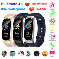 Smart Watch Wristband Bluetooth Phone Mate Heart Rate Fitness Tracker For iPhone