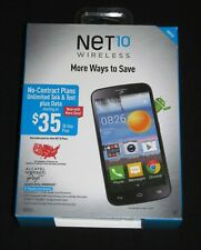 "Brand New Sealed NET10 Alcatel One Touch Pop Icon 5"" 4GB Prepaid Android Phone"