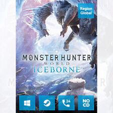 Monster Hunter World Iceborne DLC for PC Game Steam Key Region Free
