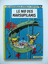 RE (bel état) - Spirou et Fantasio 12 (le nid des Marsupilamis) 1967 Franquin