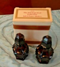 Vintage Avon Cape Cod Ruby Salt & Pepper Shakers with box