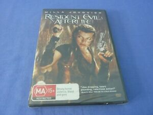 Resident Evil Afterlife DVD Milla Jovovich Ali Larter R4 New Sealed