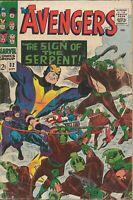 Avengers #32 Vintage 1966 Marvel Comics 1st App Sons of the Serpent + Bill Foste