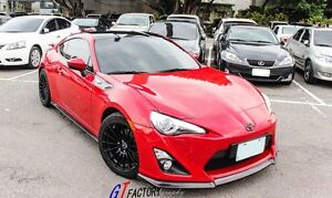 TOYOTA SCION FRS FR-S 86 GT86 FT86 ZN6 CARBON FRONT LIP SPOILER CS STYLE