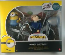 New Minions THE RISE OF GRU Movie Moments PEDAL POWER GRU Playset Action Figure