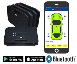 Corner Weight Racing Car Scales STR 'Wireless App' Bluetooth car Setup Race Road