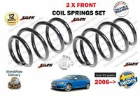 FOR AUDI S3 QUATTRO A3 2.0 2006 > NEW 2 X FRONT LEFT + RIGHT COIL SPRINGS SET