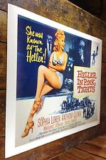 HELLER IN PINK TIGHTS AMERICAN WESTERN FILM SOPHIA LOREN MOVIE THEATER POSTER