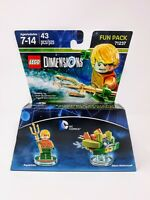 LEGO DIMENSIONS FUN PACK 71237 DC COMICS Aquaman & Aqua Watercraft