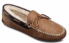 Allen Edmonds Men's Sandman Sheepskin Shearling Slippers Loafers Natural 7.5 E