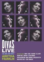 ARETHA FRANKLIN - DIVAS LIVE   DVD NEW+