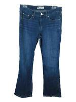 Levi's Women's sz 9M Cotton Blend 518 Super Low Blue Flare Jeans