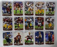 2014 Topps Washington Redskins Team Set of 15 Football Cards