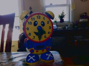 The Learning Journey Telly Teaching Time Clock Working
