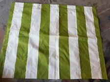 """Pottery Barn """"Rugby Stripes - Chartreuse"""" Standard Pillow Sham"""