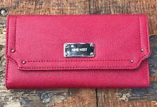 Nine West Red/Silver Envelope Style Wallet