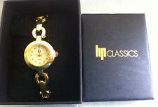 LIP Montre Femme Lip - Classics - Quartz - Bracelet acier doré