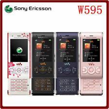Original Sony Ericsson W595 unlocked Cell Phone 2G 3G 3.15MP Camera slider