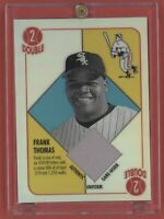 2003 Topps Chrome Blue Backs Relics #FT Frank Thomas Uni A