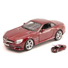 Mercedes SL 500 (r231) 2012 Amarant Metallic 1 24 Burago Auto Stradali Die cast