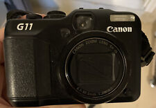 Canon PowerShot G11 3632B00 10MP Compact Digital Camera - Black