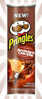 Pringles Rotisserie Chicken Flavored Potato Chips Crisps LIMITED EDITION 5.5 OZ