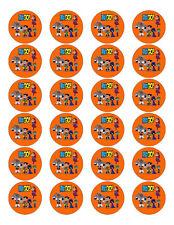 24 Teen Titans Go Stickers Labels Bag Lollipop Party Favors Gift