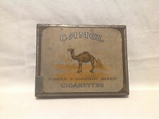 VINTAGE CAMEL TURKISH & DOMESTIC BLEND FLAT CIGARETTE TIN
