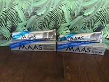 Vintage Maas International Metal Polish (2) 4-Ounce Tubes- Polishing Cream