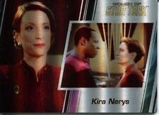 Star Trek Women Of 50th Metal Parallel Base Card #64 Kira Nerys and Benjamin Sis