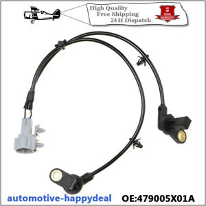 NEW Rear Right O/S Left N/S ABS Speed Sensor 479005X01A For Nissan Pathfinder