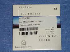 Lee Filter (Wratten) 75x75mm  No. 82