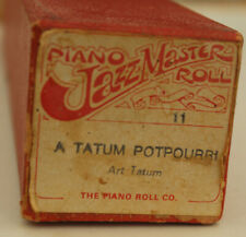 More details for jazzmaster pianola roll : a tatum potpourri by art tatum