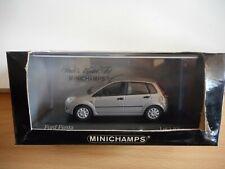 Minichamps Ford Fiesta 2002 5-Doors in Grey on 1:43 in Box