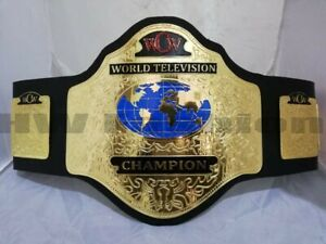 WCW World Television Wrestling championship heavyweight Belt Adult Size