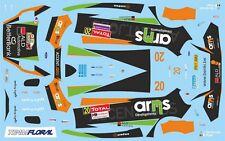 DECALS 1/43 FORD FIESTA WRC - #20 - SERDERIDIS - RALLYE DU CONDROZ 2013 - D43405