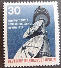 Alemania estampillada sin montar o nunca montada sello Deutsche Bundespost BERLIN 1971 radiodifusión SG B392