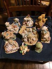 Cherished Teddies Ten Figurines Lot