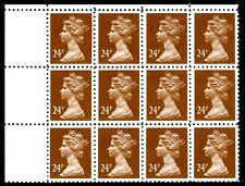 24p Forgery Block of 12 UNMOUNTED MINT V76024