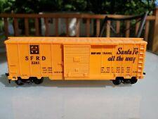 Marx Santa Fe Sfrd 3281 Box Car - Ho Scale