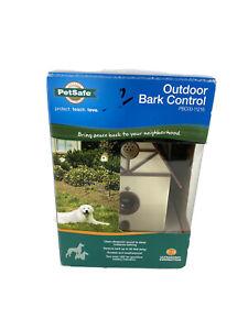 New PetSafe Outdoor Ultrasonic Bark Control Deterrent PBC00-11216