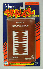 SMETHPORT - HIP HUGGER MAGNETIC GAMES - BACKGAMMON - NEW    #ZSME-514-4