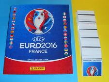 Panini EM 2016 Euro France 16 alle 680 Sticker komplett Set + Softcover Album