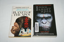 Planet of the Apes by Pierre Boulle + Dawn of the Planet of the Apes paperbacks