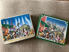 2x Disneyland Resort Paris 3D Biscuit Tins